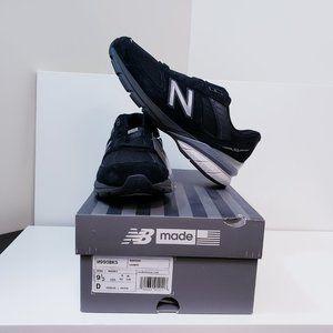 New Balance Men's 990v5 Made in US Black/Silver